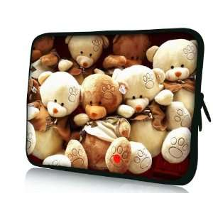 Cute 15 inch Teddy Bear Computer Case/Laptop Case Electronics