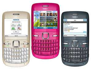 New Nokia C3 Quadband GSM WIFI Qwerty Unlocked Phone 758478023624