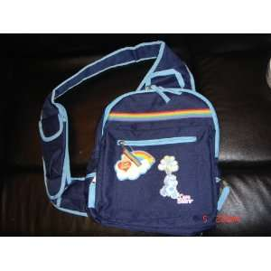 Care Bears Grumpy Sling Backpack Bag School Book New Toys & Games
