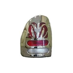 1996 00 Dodge Caravan Big Horns Chrome Taillight Covers