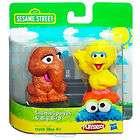 sesame street snuffleupagus big bird 2 pack hasbro playskool snuffy