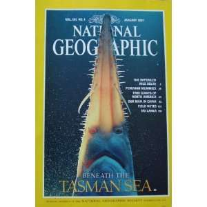 National Geographic Magazine January 1997 Beneath the