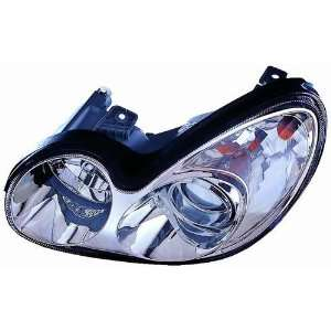 02 03 Hyundai Sonata Headlight Assembly ~ Left (Drivers