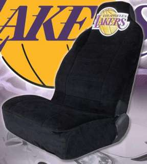 Los Angeles Lakers Car Seat Covers W/ Embroidery Logo