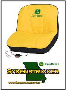 NEW JOHN DEERE GATOR & MOWER HEATED MEDIUM SEAT COVER