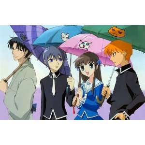 Fruits Basket T shirt   Umbrella Stroll