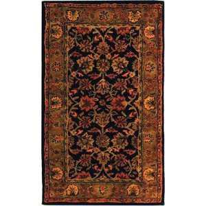Safavieh   Classic   CL344A Area Rug   6 Round   Navy