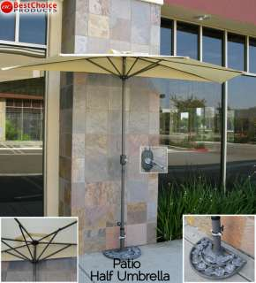 best choice products presents this brand new 10 half patio umbrella if