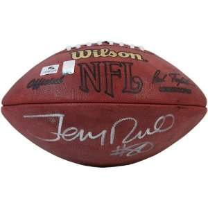San Francisco 49ers #80 Jerry Rice Autographed Authentic Game Football