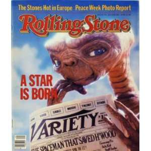Rolling Stone Cover of ET / Rolling Stone Magazine Vol