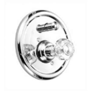 JADO PRL KNOB PB TUB/SHOWER VALVE & TRIM UB