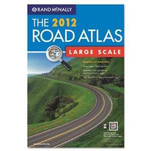 2012 United States Road Atlas Large Type Soft Cover