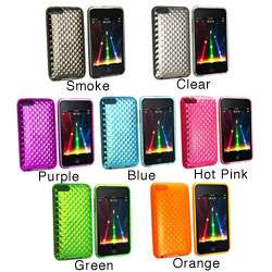Clear Diamond TPU Rubber Case for iPod Touch Gen 2/3
