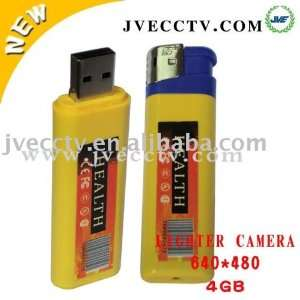 lighter camera usb flash drive camera lighter jve 3301b