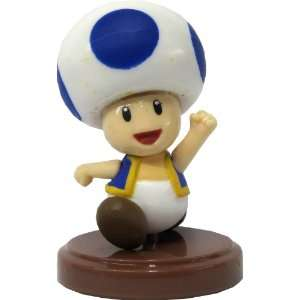 Mario Choco Egg Mini Figure   NO CANDY]   Blue Toad Toys & Games