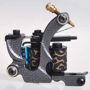 Custom Cast Iron Tattoo Machine Liner Shader Gun HM38