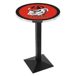 36 University of Georgia Dog Counter Height Pub Table