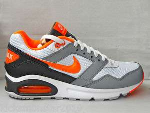 Nike Air Max Navigate White Grey Orange Running sneakers Mens sz