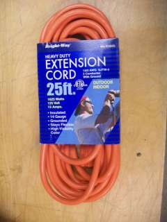 Heavy Duty Extension Cord 25   Outdoor/Indoor