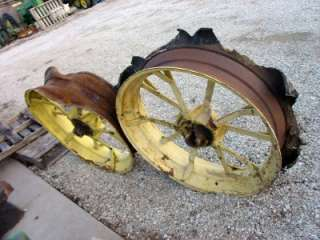 John Deere B Rear Wheel Cut off rims