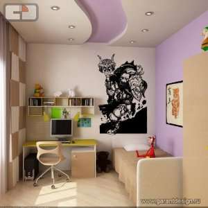 Orc Warrior WOW Wall Mural Vinyl Decal Sticker D 381
