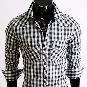 New Designer Stylish Mens Casual Slim fit Dress Shirts