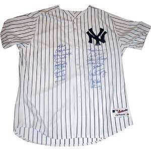 1977  1978 New York Yankees 18 Signature Authentic Yankees Home Jersey