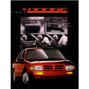 1993 DODGE Sales Brochure Literature Book Piece