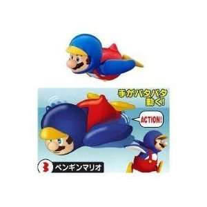 Nintendo Super Mario Bros. Penguin Action Mini Figure Toys & Games