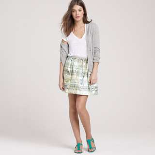 Plaid swing skirt   Mini   Womens skirts   J.Crew