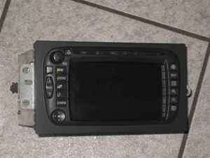 03 04 Cadillac Escalade Navigation GPS Radio Unit LKQ