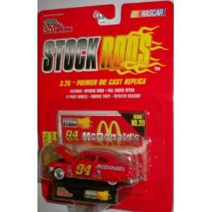 Racing Champions Stock Rods Issue # 28 McDonalds #94 w