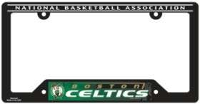CAR/AUTO LICENSE PLATE FRAME BOSTON CELTICS BASKETBALL