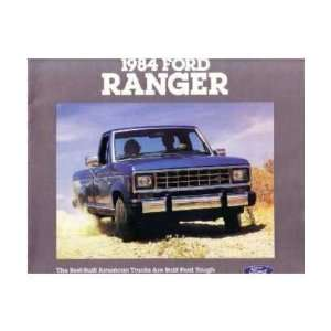 1984 FORD RANGER Sales Brochure Literature Book Piece