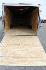 NEW 2012 8.5 X 36 ENCLOSED GOOSENECK CARGO TRAILER
