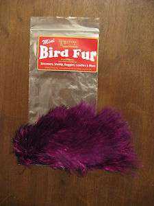 Fly Tying Whiting Farms Spey Mini Bird Fur Purple