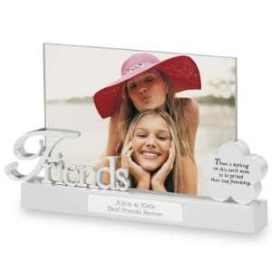 Personalized Friends Float Picture Frame Gift