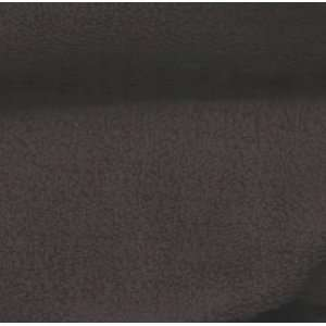 60 Wide Minky Sherpa Suede Black Fabric By The Yard