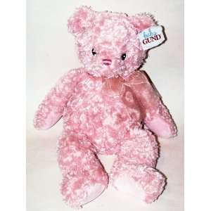 Baby Gund Pink Plush Teddy Bear 15 Toys & Games