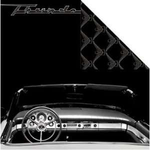 Ford T Bird Interior 12 x 12 Double Sided Cardstock Arts