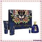 Christian Audigier 3.4 oz Men edt Cologne 4 pcs Gift Set