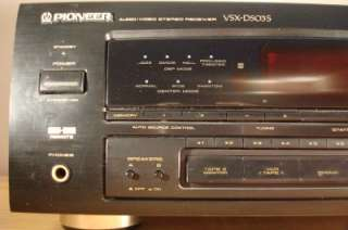 Pioneer VSX D503S Audio/Video Stereo Receiver
