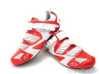 NEW Giro Factor   Road Cycling Shoes   Red/White