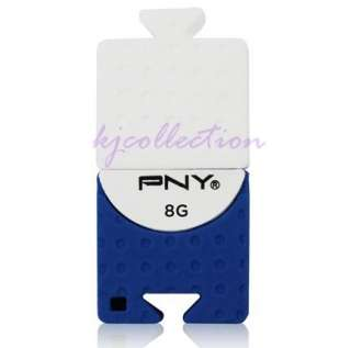 PNY 8GB 8G USB Flash Pen Drive Disk Attache Cute BRICK