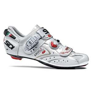Sidi Ergo 2   White   Road Cycling Shoe   Brand New