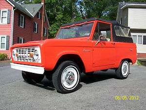 1976 FORD BRONCO 4WD 302V8 3SPD 83378miles TURN KEY CLASSIC RUNS