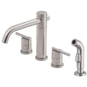 Danze D414458SS Parma Two Handle Kitchen Faucet with
