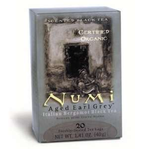 Numi Tea Organic Earl Grey Assam Black Tea ( 6x18 BAG)