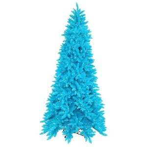 Sky Blue Ashley Spruce 90 Artificial Christmas Tree