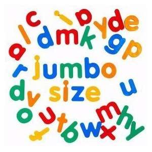 Jumbo Lowercase Magnetic Letters Toys & Games